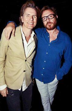 Two of my favourite men! Mr John 'Tabulous' Taylor and Mr Simon 'Lets get funky' Le Bon. #duranduran