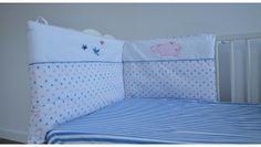 Ochraniacz do łóżeczka Hipcie - idealny dla niemowląt