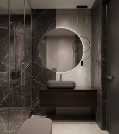 Image may contain: wall, indoor and sink Washroom Design, Bathroom Design Luxury, Modern Bedroom Design, Bathroom Design Small, Home Room Design, Bathroom Layout, Modern Bathroom, Bathroom Design Inspiration, Design Ideas