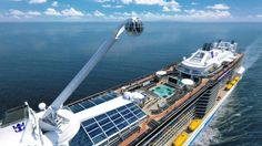 Quantum of the Seas is all about the outdoor decks and indoor party life. | Photo Credit: Quantum of the Seas