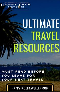 My ultimate travel resources which will help you for your next adventure to book flights, hotels, transportation, insurance or organize stuff. Book Flights, Ultimate Travel, Transportation, Organize, Hotels, Adventure, Reading, Face, Happy
