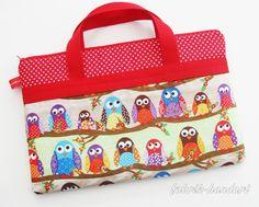 Notebook-Sleeves - Notebooktasche - ein Designerstück von KEVS-BAG bei DaWanda
