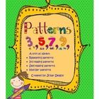 This Patterns unit contains 16 activities for teaching repeating, increasing and decreasing patterns :)