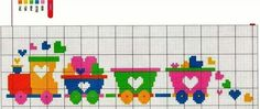 This Pin was discovered by Gra Cross Stitch For Kids, Cross Stitch Heart, Beaded Cross Stitch, Cross Stitch Borders, Crochet Cross, Cross Stitch Designs, Cross Stitching, Cross Stitch Embroidery, Embroidery Patterns