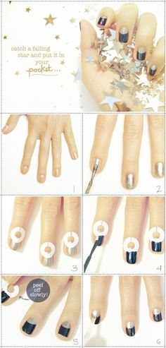 this makes me wish i had fingernails. hair-nails-makeup-tricks