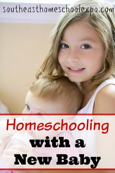 Homeschooling with a new baby? This season will pass! Here are some tips to help you homeschool with a baby in tow. Parenting Goals, Parenting Toddlers, Parenting Hacks, Best Homeschool Curriculum, Homeschooling Resources, Christian Parenting, New Baby Products, Mom Advice, Happenings