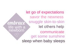 embracing life with a newborn #newborn #postpartum