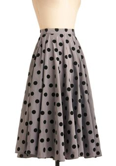 Give Us a Spin Skirt, #ModCloth