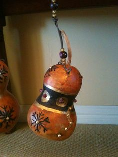 Gourd ornament by Claire.