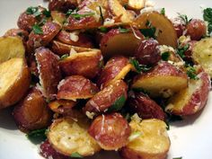 Headspace: Roasted Potatoes with Garlic Parmesan Butter