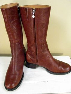 vintage leather boots <3