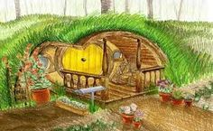 Afbeeldingsresultaat voor hobbit hole