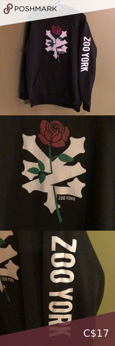 Mens Clothing Brands, Men's Clothing, Zoo York Hoodies, Rose Shop, Plus Fashion, Fashion Tips, Fashion Trends, Black Hoodie, Youth