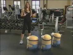 minion. what are  you focussed on getting tougher? The last one: Butt. Lol!