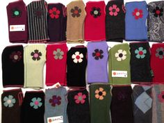 Fingerless mittens - Be stylish and comfy everywhere you roam.