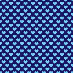 papel decorativo azul corazones - Buscar con Google