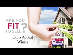 """RE/MAX Fit to Sell - Even in winter, your home can be """"Fit To Sell"""" with these curb appeal tips. http://www.remax.com. #remaxFitToSell"""