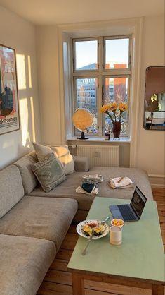 Dream Apartment, Apartment Interior, Room Decor Bedroom, Interior Design Living Room, Bedroom Ideas, Dream Home Design, House Design, Deco Studio, Dream Rooms