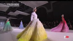 """GIAMBATTISTA VALLI"" Paris Haute Couture Autumn Winter 2014 Full Show HD..."