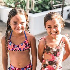 Little Girl Swimsuits, Kids Swimwear, These Girls, Little Girls, Button, Sexy, Bikinis, Fashion, Moda