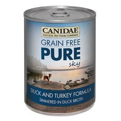 Canidae Grain Free Pure Sky Duck and Turkey Canned Dog Food, Case of 12, 13 oz. ** Additional details at the pin image, click it