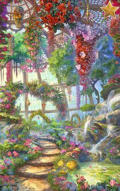 Shall we date oz+ Fantasy Art Landscapes, Fantasy Landscape, Fantasy Artwork, Landscape Art, Fantasy City, Fantasy Places, Fantasy World, Scenery Wallpaper, Wallpaper Backgrounds