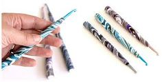 How to Make a Polymer Clay Crochet Hook