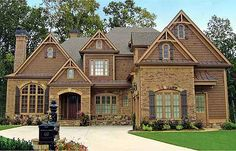 Plan W15666GE: Craftsman, European, Photo Gallery, Luxury, Corner Lot, Traditional House Plans & Home Designs
