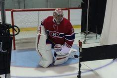 Carey Price avec son nouvel équipement pour la saison 2015-2016.
