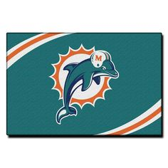 Miami Dolphins NFL Tufted Rug (30x20)