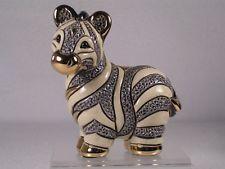 De Rosa Rinconada Family Collection Figurine 'Baby Zebra' - NEW  #F324 NIB!