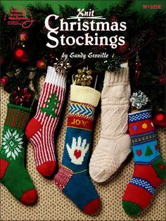 Get Book for Liz before Christmas, to knit our own oldschool stockings! Book: Knit Christmas Stockings, by Sandy Scoville