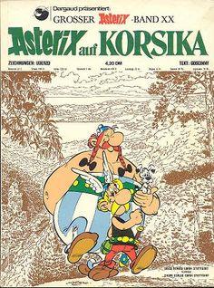 Asterix auf Korsika (französischer Originaltitel: Astérix en Corse) ist der 20. Band der Comicreihe Asterix, die vom Autor René Goscinny und Zeichner Albert Uderzo produziert wurde und 1973 in der französischen Zeitschrift Pilote erschien.  https://de.wikipedia.org/wiki/Asterix_auf_Korsika