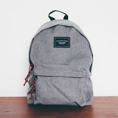 Wasserscheide Newquay Union Rucksack Chambray – Emel – Join the world of pin Diy Backpack, Backpack For Teens, Hiking Backpack, Leather Backpack, Mochila Jansport, Jansport Backpack, Cute Backpacks For School, College Backpacks, Fashion Bags