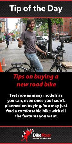 BikeRoar Tip of the Day: Tips on Buying a New Bike #BikeRoarTOD