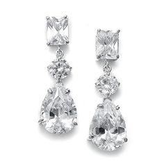 Harlow earrings : Katey J. Bridal [www.kateyjbridal.com]