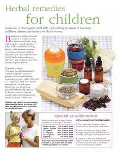 Herbal Remedies For Children Herbal Remedies Medicina Cold Home Remedies, Natural Health Remedies, Natural Cures, Herbal Remedies, Natural Healing, Healing Herbs, Medicinal Herbs, Natural Medicine, Herbal Medicine
