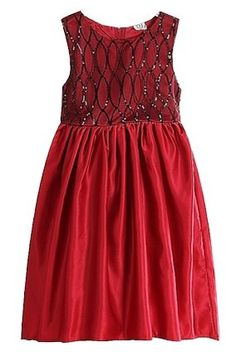 Spider Girl party dress burgundy red