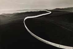 "I don't like truth, ...EASTERN design office - ronulicny: ""Running Fence"", 1972 By: CHRISTO..."