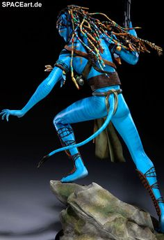 Avatar: Jake Sully - Deluxe Statue, Fertig-Modell ... http://spaceart.de/produkte/avt006.php