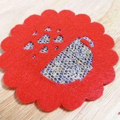 Felt Sachet Coasters Warm Your Heart & Tickle Your Nose - Jennifer Maker Heart Pop Up Card, Rainbow Card, Heart Crafts, Art N Craft, Pop Up Cards, Be My Valentine, Spring Collection, Petra, Paper Flowers