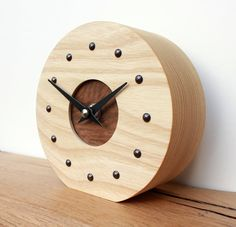 Wooden Clock | Larger pictures for..... Wooden Mantel Clock - 7