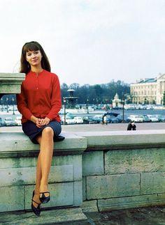 Anna Karina, 1960's