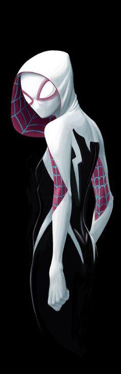 Spider Gwen by David Joyce
