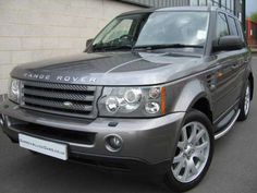 2007 Range Rover Sport 2.7 TDV6 Sport High Specification Edition in Stornaway Grey Metallic with black leather interior. FSH.
