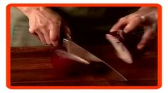 Chopping an onion the quick & easy way