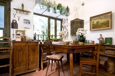 Victorian Era, Hungary, Dining Table, Paintings, Furniture, Home Decor, Decoration Home, Paint, Room Decor