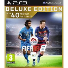 FiFa 16 - Deluxe Edition, PlayStation 3, Sports