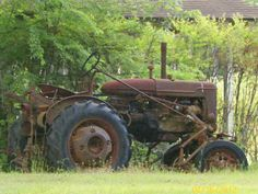 Love old tractors