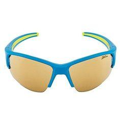 Julbo Venturi Performance Sunglasses, Blue/Green, Zebra Lens, Medium Green Zebra, Blue Green, Running Sunglasses, How To Run Faster, Black And Grey, Matte Black, Mirrored Sunglasses, Lens, Medium